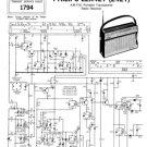 Philips 242T Service Schematics. Mauritron #3211