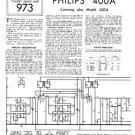 Philips 400A Service Schematics. Mauritron #3216