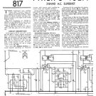 Philips 462A Service Schematics. Mauritron #3218