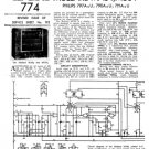 Philips 791A Service Schematics. Mauritron #3236