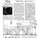 Philips 797A Service Schematics. Mauritron #3238