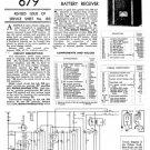 Philips 821B Service Schematics. Mauritron #3240