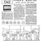 Philips B3G75U Service Schematics. Mauritron #3248
