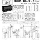 Philips B4G17U Service Schematics. Mauritron #3250