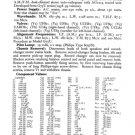 Philips F5G96A Service Schematics. Mauritron #3262