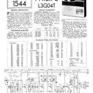 Philips L3G04T Service Schematics. Mauritron #3272
