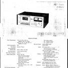 Sony TC186SD Service Manual. Mauritron #3350