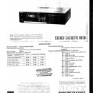 Sony TCFX44B Service Manual. Mauritron #3360