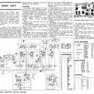 HMV 1107 Vintage Service Schematics Mauritron #3392