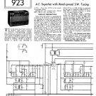 HMV 1120 Vintage Service Schematics Mauritron #3396