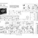 HMV 1122 Vintage Service Schematics Mauritron #3398
