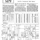HMV 1421 Vintage Service Schematics Mauritron #3423