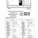 Akai AM32 Service Manual. Mauritron #3482