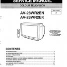JVC AV28WR2EK Service Manual. Mauritron #3589
