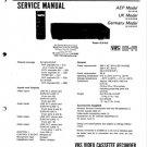 Sony SLV815 Service Manual. Mauritron #3622