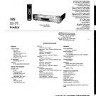 Sony SLVSE85 Service Manual. Mauritron #3646