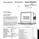 Sanyo CBP2580A Service Manual. Mauritron #3685