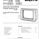 Sanyo CBP2866 Service Manual. Mauritron #3687