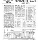 Ferranti 1137B Service Schematics. Mauritron #3718