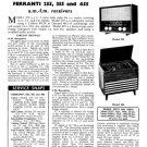 Ferranti 355 Service Schematics. Mauritron #3742
