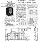 Ferranti 637BR Service Schematics. Mauritron #3774