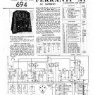 Ferranti A1 Service Schematics. Mauritron #3803