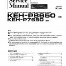 Pioneer KEHP7650 Service Manual. Mauritron #3974