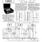 Bush BP61 Vintage Service Circuit Schematics