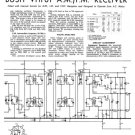 Bush VHF61 Vintage Service Circuit Schematics