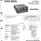 Sony VPH1251Q Service Manual Schematics