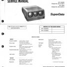 Sony VPH1252QM Service Manual Schematics
