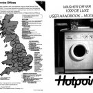Hotpoint 1000 De Luxe 9934 Washer Operating Guide