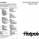 Hotpoint 6200 Washer Operating Guide