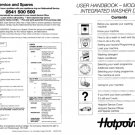 Hotpoint 6240 Washer Operating Guide