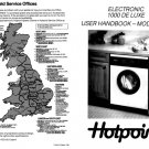 Hotpoint 9544 Washer Operating Guide
