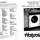 Hotpoint 9556 Washer Operating Guide