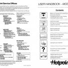 Hotpoint 9586 Washer Operating Guide