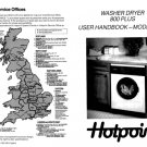 Hotpoint 9924 Washer Operating Guide