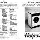 Hotpoint 9945 Washer Operating Guide