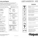Hotpoint 9971 Washer Operating Guide