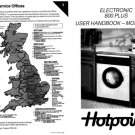 Hotpoint Electronic 800 Plus 9514 Washer Operating Guide