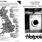 Hotpoint Electronic 800 Plus 9534 Washer Operating Guide