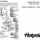 Hotpoint Micro Profile 1400 Deluxe 9585 Washer Operating Guide