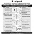 Hotpoint WF430 Washer Operating Guide