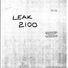 Leak 2100 Schematics Service Circuits