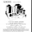 Leak TL50 Plus Schematics Service Circuits