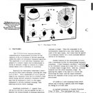 Marconi TF2330A Service Instructions Circuits