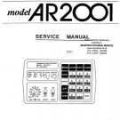 AOR AR-2500 Scanner Service Manual