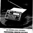 AOR AR3000A Scanner Service Manual