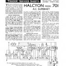 Halcyon 701 Service Manual